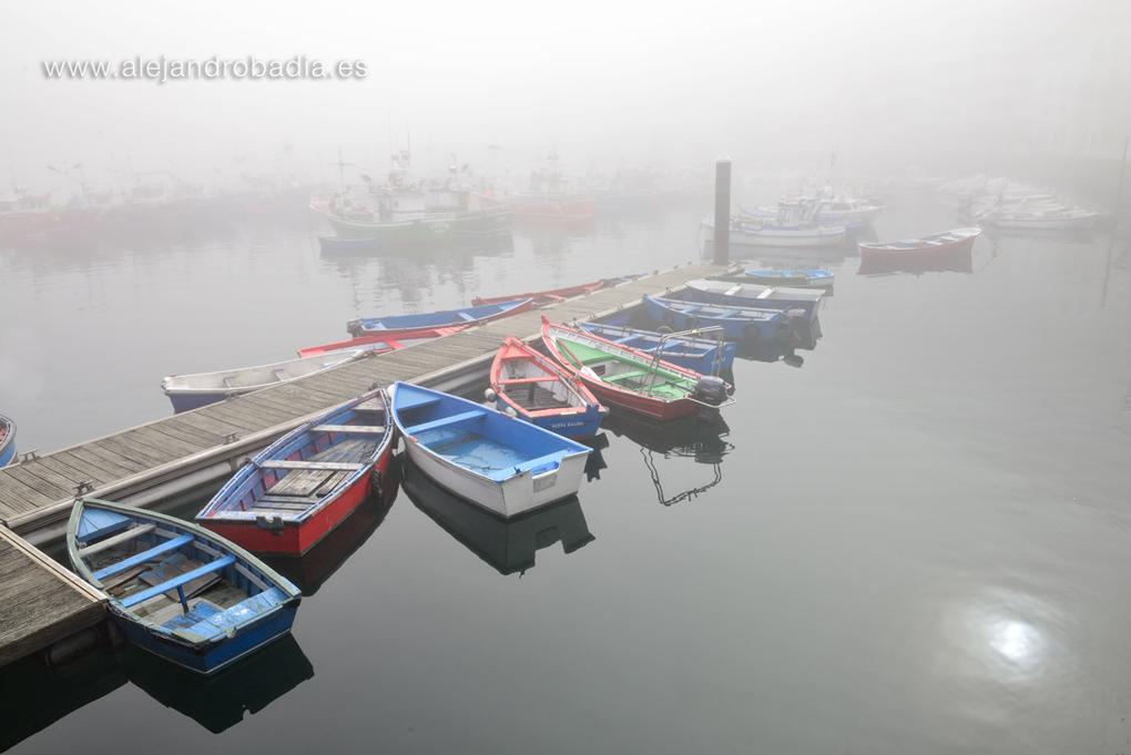 Niebla en Luarca