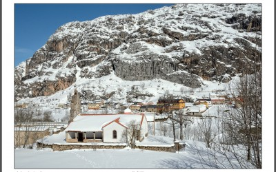 Valle de Lago, Invernal