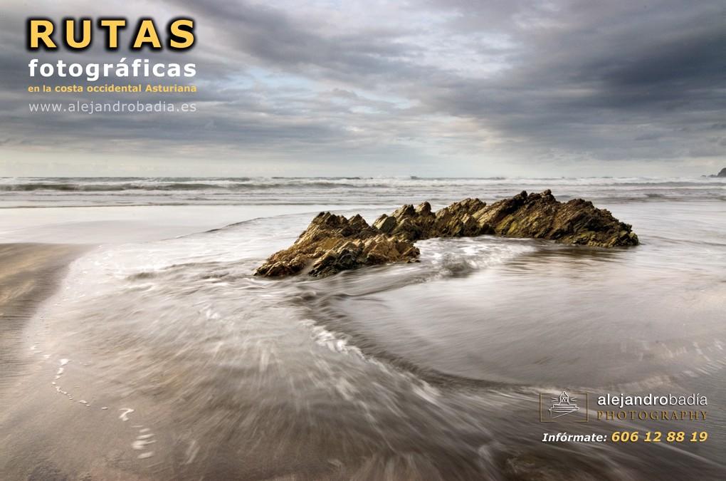 Rutas FOTOGRÁFICAS guiadas, por la costa Occidental Asturiana.