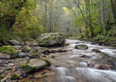Rio Ibias en Asturias