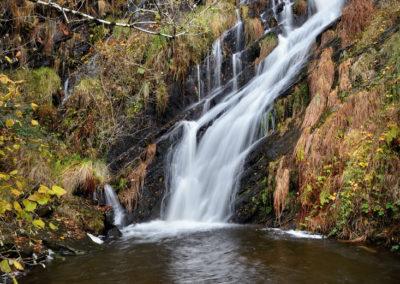 Cascada de la Seimeira en Santa Elulalia de Oscos