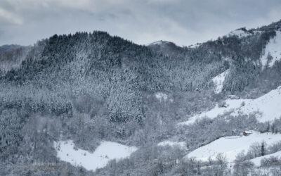 Invierno nevado en Asturias